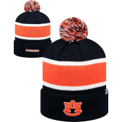 "Top of the World 2-Sided ""Whirl"" Beanie Hat with POM POM - NCAA Cuffed Knit Cap"