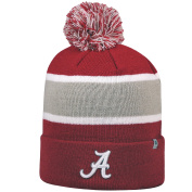 """Top of the World 2-Sided """"Whirl"""" Beanie Hat with POM POM - NCAA Cuffed Knit Cap"""