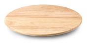 CONTINENTA Lazy Susan Made of Wood of Gum Tree Turnable Serving Plate Cheeseboard Various Ø - hard wood, 30cm