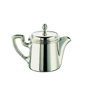Broggi Rubans Tea-pot with catch cl.100 Silver-plated nickel silver