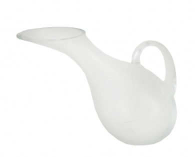 Clear Glass Tipsy Wine Decanter/Pitcher