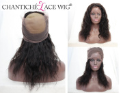 Chantiche 360 Frontal, Cheap Body Wave Brazilian Vrigin Human Hair Full Lace Frontal Closure with Baby Hair Bleached Knots 30cm Natural Colour