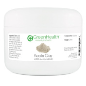 Kaolin Clay Powder - 100% Pure & Natural by GreenHealth