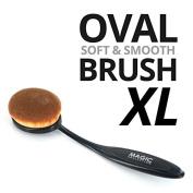 Magic Blending & Contouring Makeup Foundation XL-Size Oval Brush #MTO003XL