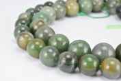 Natural African Green Agate Gemstone Beads Gemstone Round Beads 10mm,12mm Natural Stones Beads Healing chakra stones Jewellery Making