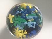 Creative Hands Bible Foam Shapedes 180ml Value Pack
