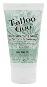 Tattoo Goo Deep Cleansing Soap for Tattoos & Piercings 60ml – New Formula