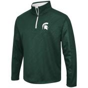 Colosseum Men's NCAA Sleet Embossed 1/4 Zip Jacket