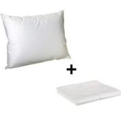 Litaf Toddler Pillow with Pillowcase, Lavender