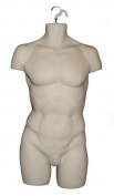 Adult Male SKIN Hanging Body Form Display Mannequin Man Bodyform