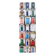 Coat Rack - 100 doors 139x46x2cm, coatrack, wall coat rack, coat hooks, wall mounted coat rack, clothes rack, coat stand