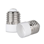 kwmobile lamp socket adapter converter E27 bulb socket to E14 bulb socket for LED-, Halogen-, Energy saving lamps