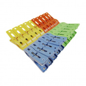Ularma Hot Selling 1Set of 20 Beach Towel Clips in Fun Bright Prevents Towels Blowing Away