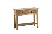 Mercers Furniture Corona 2 Drawer Console Table