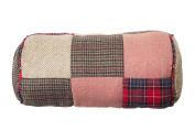 Premier Housewares Heritage Bolster Cushion - Red