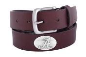NCAA Alabama Crimson Tide Leather Concho Belt