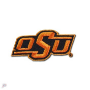 "Oklahoma State ""OSU"" Primary Team Logo Iron On Embroidered Patch"
