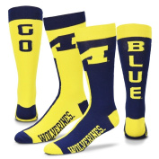 For Bare Feet NCAA Big Top MisMatch Crew Socks Size
