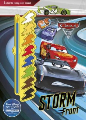 Disney Pixar Cars 3 Storm Front: 3 Collectible Trading Cards Included (Deluxe Paint Palette)