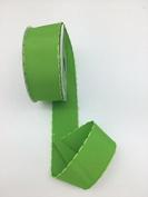 Celebrate IT- Ribbon plain ribbon with silk edge (green) 3.8cm x 5.5m