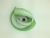 Celebrate IT- Ribbon Lattice wired ribbon with lace (yellow) 3.8cm x 5.5m