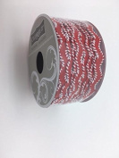 Celebrate IT- Ribbon -Waved Ribbon (red and white) 1.2cm x 2.7m