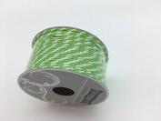 Celebrate IT- Ribbon -Cord (green and white) 2mm x 4.5m