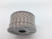 Celebrate IT- Ribbon -Cord (camal and white) 2mm x 4.5m