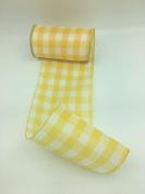 Celebrate IT- Ribbon Lattice wired ribbon (yellow) 14cm x 5.5m