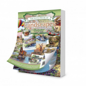 Hunkydory Little Book of Landscapes - 144 pages approx 15cm x 10cm