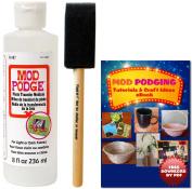 Mod Podge Photo Transfer Medium (240ml) + Brush + Free Downloadable eBook
