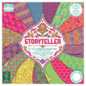 Premium Craft Cardstock First Edition Storyteller 20cm x 20cm Scrapbook Papers