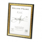 Deluxe Document Frame, 8 1/2 x 11, Gold (NUD17500) Category