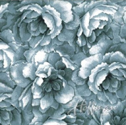Hoffman 'Belleflower' Seamist Tonal Blooms Cotton Fabric