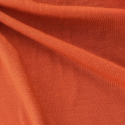 USA Made Premium Quality Jersey Knit Fabric  .   by the Bolt) - Pumpkin - 20 Yards