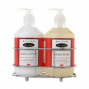 de-luxe MAISON Sink Set, Hand Soap & Hand Lotion, Red Currant, 1 ea