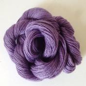 Lavender Purple Combed Cotton Fingering Weight 8/2 Crochet Yarn Thread