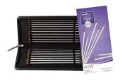 "Knitter's Pride Nova CUBICS Platina Single Pointed Needle Set - 14"" / 35cm [320455]"