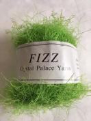 Crystal Palace Fizz #7306 Electric Lime Green Eyelash Yarn