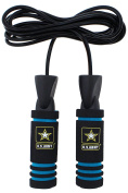 U.S. Army 0.2kg Weighted Jump Rope With Foam Handles