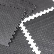 CAP Barbell 1.9cm Puzzle Exercise Mat with EVA Foam Interlocking Tiles