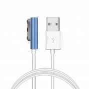 Mchoice Magnetic Charging Cable W/LED for Sony Xperia Z3 L55t Z2 Z1 Compact XL39h