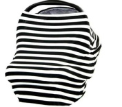 UltraGuards-3-in-1 Nursing Breastfeeding Cover Baby Car Seat Cover Shopping Cart Cover
