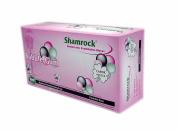 Shamrock 15112 Powder Free Textured Bubble Gum Flavour Medium Examination Gloves - Sold by the Case by Shamrock