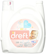 Dreft He Liquid Laundry Detergent, 170 Fluid Ounce