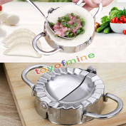 Pastry Tools Stainless Steel Wraper Dough Cutter Pie Ravioli Dumpling Mould Mould