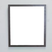 Eviva EVMR-24WG-SPN Reflection 60cm Wenge Full Framed Bathroom Wall Mirror Combination