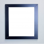 Eviva EVMR514-30X30-ES New York Bathroom Vanity Mirror Full Frame Espresso 30X31 Wall Mount Combination