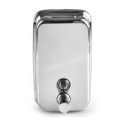 BESTOYARD Stainless Steel Liquid Soap Dispenser Shampoo Lotion Pump 500ml