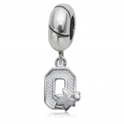 NCAA Ohio State (OSU) Buckeyes Jewellery - Sterling Silver Women's Charms and Charm Beads
